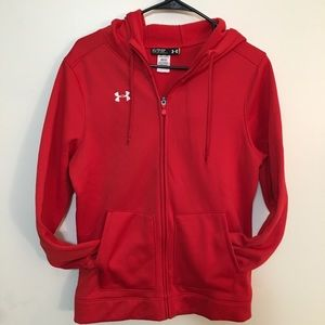 Under Armour Loose Coupe full zip hoodie